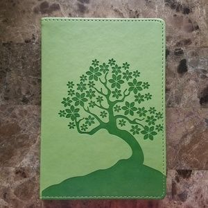 Eccolo World Traveler Journal Green Faux Leather